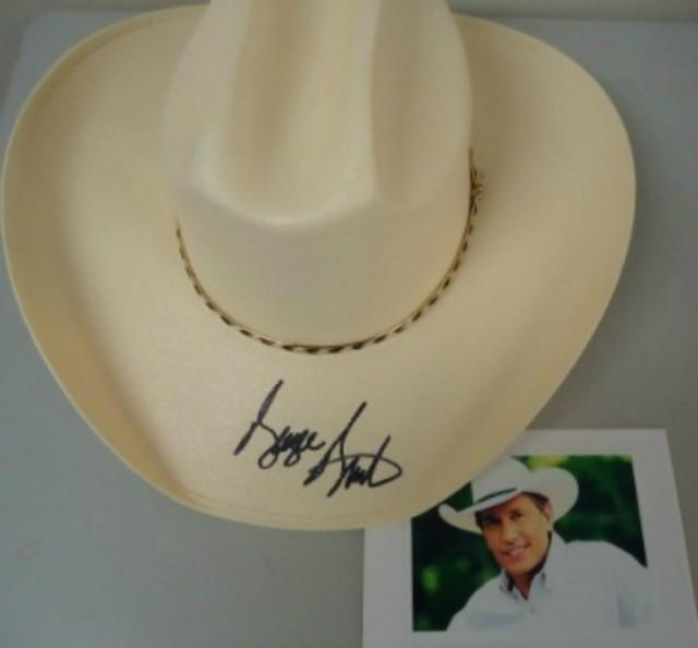 GEORGE STRAIT SIGNED COWBOY HAT -  175 c351616d53a