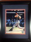 JEFF BAGWELL Houston Astros SIGNED FRAMED 11X14