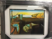 The Persistence of Memory - Salvador Dali Framed Print 11x14